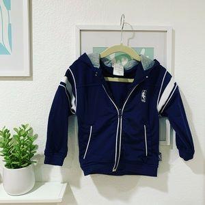 👦🏻Toddlers NBA zipped hoodie 2T
